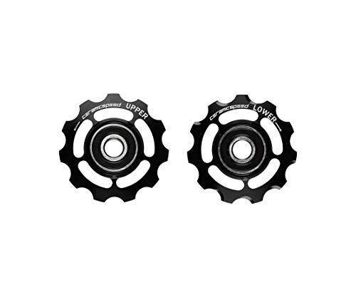 CeramicSpeed cspw10601000Riemenscheiben Schaltung Corsa, Schwarz, Einheitsgröße