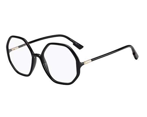Christian Dior Brille (DiorSoStellaireO5 807) Acetate Kunststoff schwarz glänzend