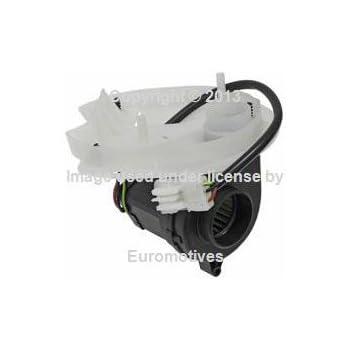 For BMW E46 Blower Motor w// Cover for Control Unit Housing E-Box Fan 12907571019