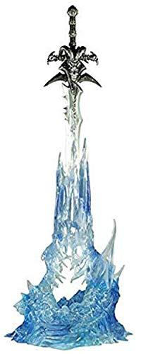 No WEIbeta Hermosa Modelo Estatua de Frostmourne PVC decoración Hecha a Mano Coleccionable Juguete para niños Regalo 23CM R