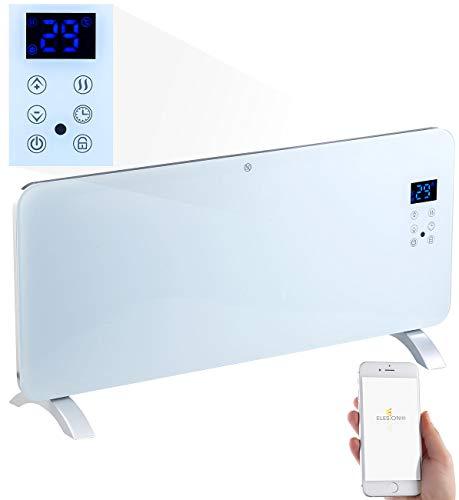 Sichler Haushaltsgeräte Heizkörper: Konvektor-Heizung mit App, für Amazon Alexa & Google Assistant, 2000 W (Heizwände)