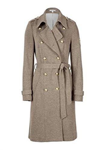 Eleganter Mantel von Apart - Farbe Khaki Melange Gr. 42