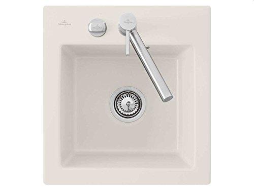 Villeroy & Boch Subway 45 XS Crema Keramik Einbauspüle Creme Küchen-Spüle Becken