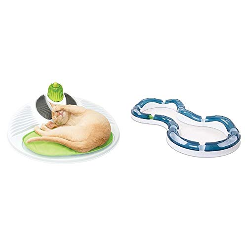 catit Wellness Center & Design Senses Super Roller Circuit Tempo-Spielschiene
