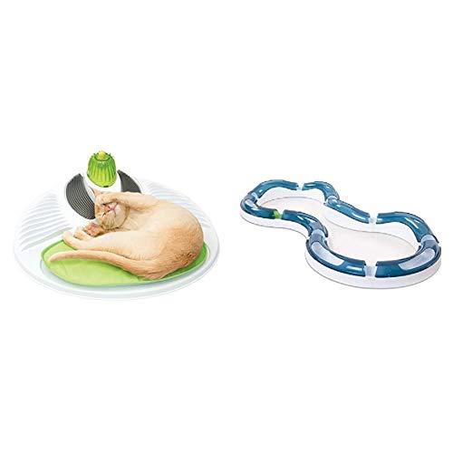 catit Wellness Center & Design Senses Super Roller Circuit Tempo-Spielschiene