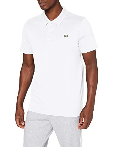 Lacoste Herren DH2881 Polohemd, Blanc/Blanc, XL