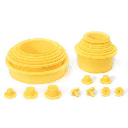 AutoLine Pro Automotive Cap Plugs Kit - 23 Piece Set