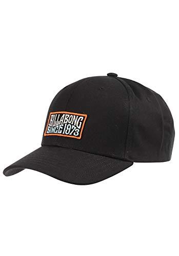 Gorra para hombre Billabong Walled Snapback Gorra Negro Negro ( Taille unique