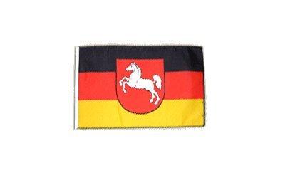 Fahne Flagge Deutschland Niedersachsen 30 x 45 cm