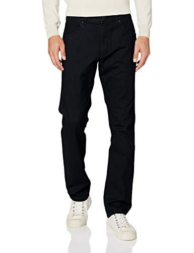 Wrangler Greensboro Jeans, Blu Navy QXE, 34W / 34L Uomo