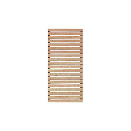Mega Holz Sichtschutz Lärche DIY Sichtschutzzaun 90x180 cm
