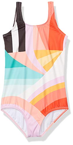 Billabong Girls' Easy On Me One Piece Swimsuit, Multi, 10