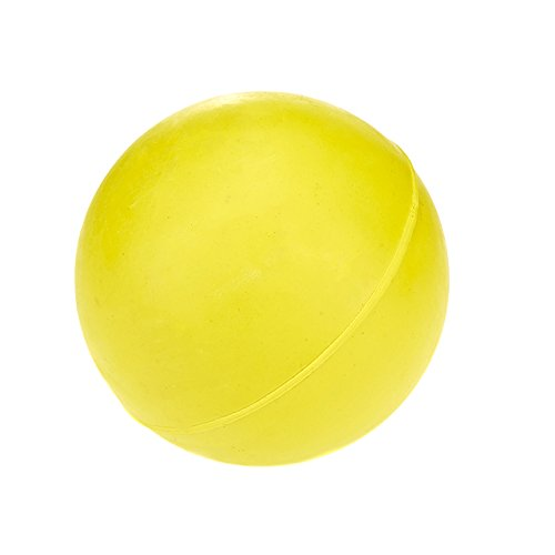 Classic Pet Products Spielball für Hunde, Gummi, robust, 70 mm, Gelb