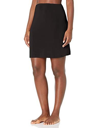 Jones NY Women#039s Silky Touch 19 AntiCling Above Knee Half Slip Black S
