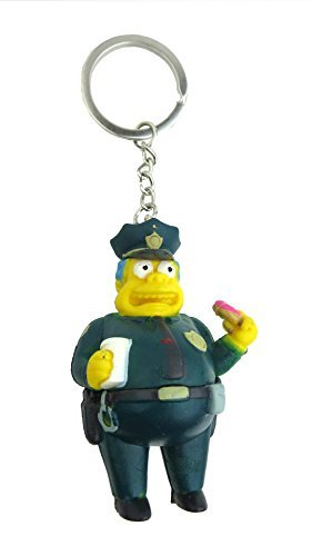 Fox The Simpsons Chief Wiggum 3D PVC Key Ring by FoxPrint