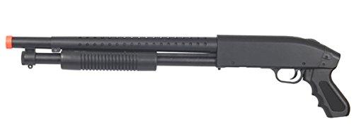 High Velocity 400 FPS Sawed Off Pump Shotgun P1799 Spring Power Airsoft Gun