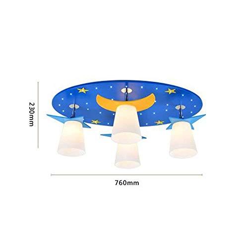 WHKHY Concise LED 'S Cycle Kinderzimmer Imitatiacrylic Ball Heiße Deckenleuchten Romantik...