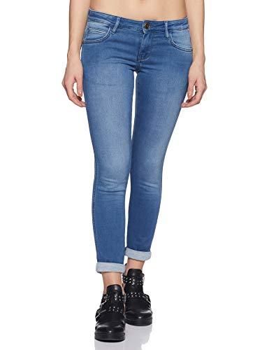 Wrangler Women's Skinny Fit Jeans (W30821W2257A_Jsw Mid Stone_32)