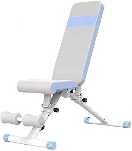 YITING Faltbare Hantel Hocker Hantelbank, Bankdrücken Kurzhantel Stuhl Sit-ups Bauchtrainer, verstellbare Fitness Stuhl, for Anfänger und Fortgeschrittene (Size : 123 * 46 * 45cm)