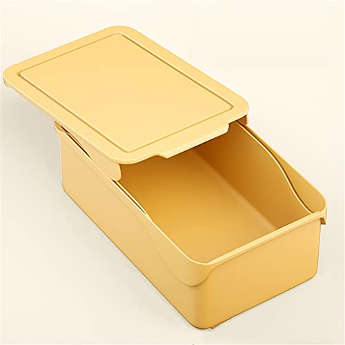 YFQHDD Organizador de Armario for Calcetines Caja de Almacenamiento de Ropa Interior separada for el hogar Organizador de cajones de Ropa (Color : D, Size : 10.5 * 24.5 * 33.5cm)