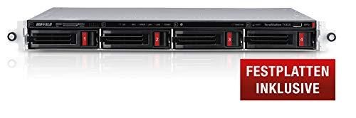 Buffalo TeraStation Desktop NAS harde schijf inclusief 4-Bay Rackmount deels uitgerust 16 TB (2 x 8 TB) 16 TB (2 x 8 TB)