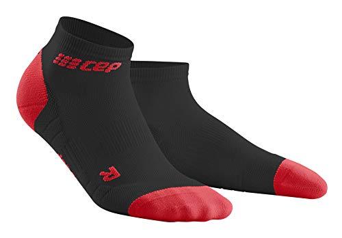 CEP – LOW CUT SOCKS 3.0 für Herren | Kurze Sportsocken für dein Workout in X-mas Design black | Größe IV