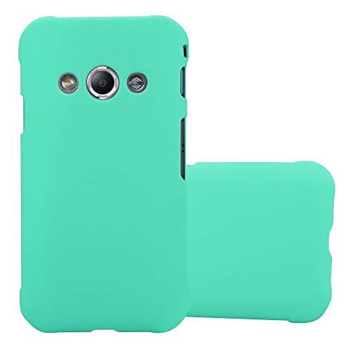 Cadorabo Hülle für Samsung Galaxy Xcover 3 in Frosty GRÜN - Hardcase Handyhülle aus Plastik gegen Kratzer und Stöße - Schutzhülle Bumper Ultra Slim Back Case Hard Cover