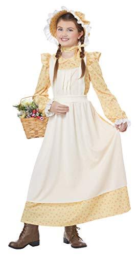 California Costumes Girls Prairie Girl Child Costume