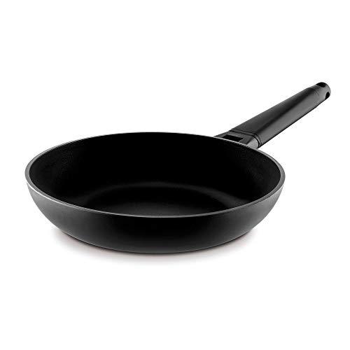 Castey: Sartén 24 cm Mango Negro
