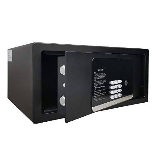 TYJKL Caja Fuerte Caja de Bloqueo de Teclado de Seguridad Digital electrónica Inicio Oficina Caja de Negocios Joyería Cash Money Gun Gabinete almacenar Documentos Importantes