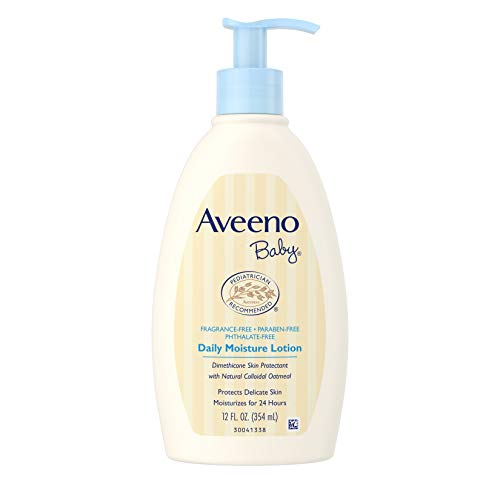 Product Image of the Aveeno Baby Daily Moisture Lotion with Natural Colloidal Oatmeal & Dimethicone,...