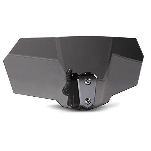 Tourtecs Windschild Spoiler-Aufsatz Vario für Buell XB9/ XB12 S Lightning dunkel getönt