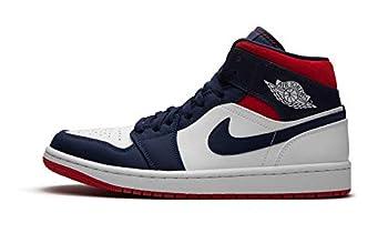 Jordan Men s Shoes Nike Air 1 Retro Mid Se Olympic 852542-104  Numeric_9