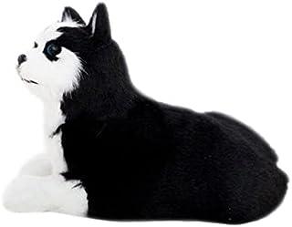 Simulation plush toys كلب أجش واقعي محاكاة لعبة الكلب جرو جرو واقعية رفيق لعبة كلب مصنوع من الشعر الاصطناعي Plush toys FAT...