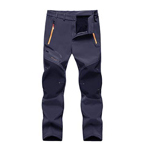 FRAUIT Pantaloni Trekking Uomo Invernali Impermeabili Taglie Forti Plus Size Oversize Pantaloni da Lavoro Ragazzo Leggeri Pantaloni Cargo Uomini Moda Pantalone Tuta Sportivi Jogging Running