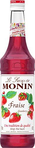 Monin Le Sirop de Monin ERDBEERE Fraise 0,7l - Paquetes de 700ml