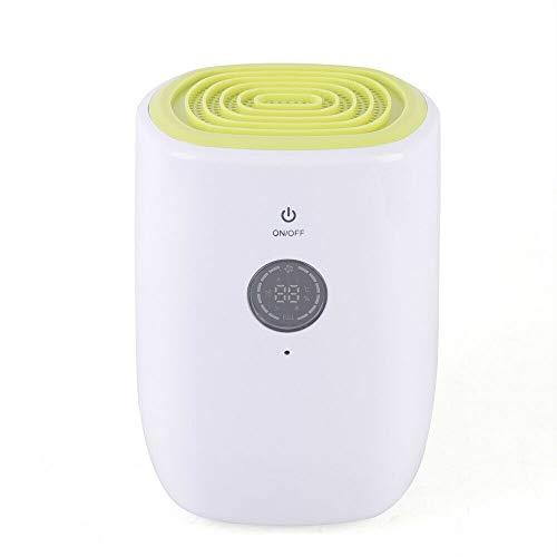 Mini-luchtontvochtiger, draagbare elektrische bouwdroger, ontvochtiger, ruimte-ontvochtiger, 30 m3, voor slaapkamer, badkamer