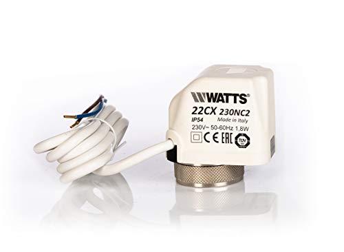 Watts wematherm eléctrica termica tracción 22CX230NC2 230 V.