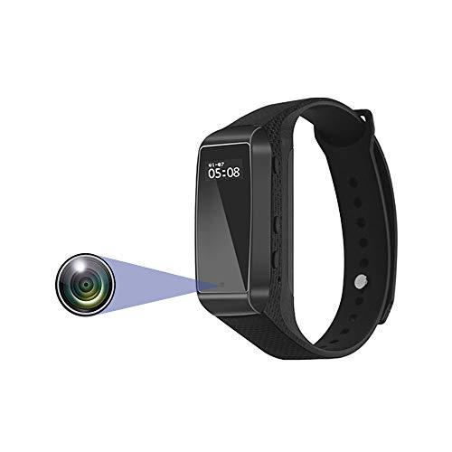 Mini Telecamera Spia, Telecamera Senza Tetto Nascosta, HD 1080P, Fotocamera Stenopeica Tascabile e Portatile, Con Scheda TF (128G)