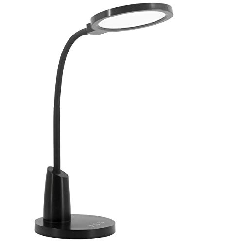 LED Desk Lamp EyeCaring Bright Desk Lamps for Home Office Study Reading Adjustable Desk Light with 10 Brightness Levels