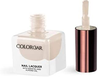 Colorbar Nail Lacquer with Keratin and Almond Oil, 12 ml Model (number/Name) 807 Peek A Boo