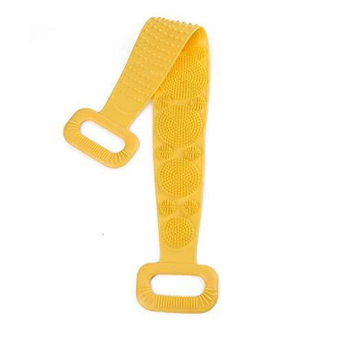 WWWL Cepillo para el cuerpo Frotar la Espalda de Barro Mágico Cepillos de Silicona Toallas de Baño Pelar Masaje Cuerpo Ducha Extendido Estropajador de la Piel Limpia