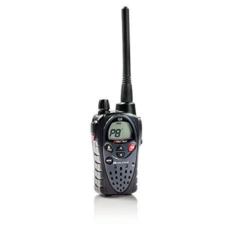 Midland G9 PMR-LPD Funkgerät inkl.Standlader (1800mAh, Akku, Vibrationsalarm)