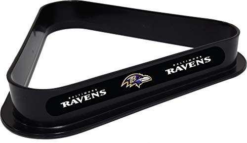 Imperial International Officially Licenced NFL Merchandise: Plastic 8 Ball Rack, Baltimore Ravens