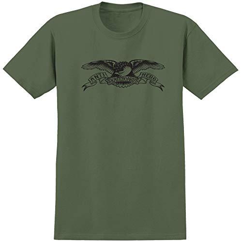 Anti Hero, T-shirt eagle, Military green black - M