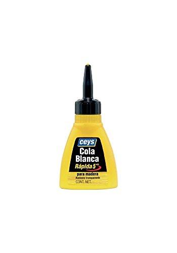 Idiscount France - Cola Blanca Para Madera Rapida Biberon 75Gr 501612 Ceys
