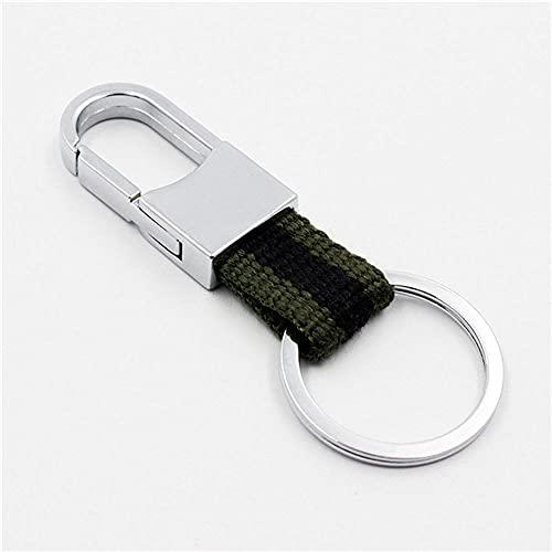 Llavero De Cuero para Colgar En La Cintura, Regalos Creativos para Hombres, Llavero De Cuero, Llavero De Metal De Moda-A4