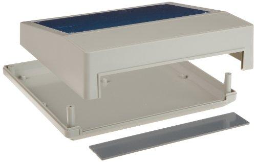 BUD Industries PC-11493 Plastic Style F Box, 9' Width x 3' Height x 8-1/2' Depth, Natural Finish