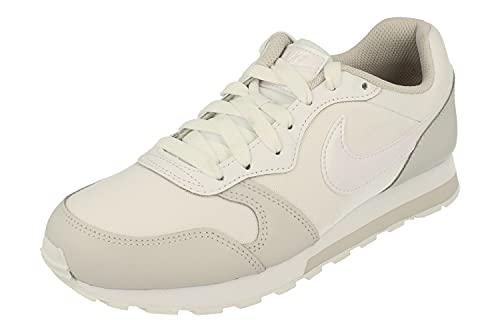 Nike MD Runner 2 GS Trainers 807319 Sneakers Scarpe (UK 5 US 5.5Y EU 38, White vast Grey 100)