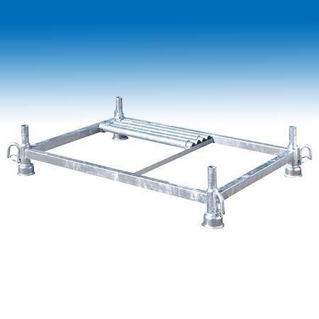 Stapelgestell - Stapelbox verzinkt mit herausnehmbaren Holmen 1 Stk.